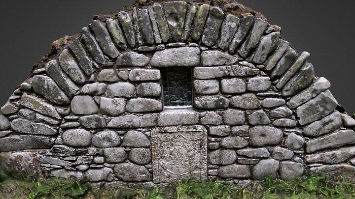 St Llolans Cell, Broughton, Scotland 3D Model