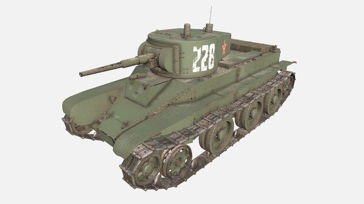 Tank BT 3D Model