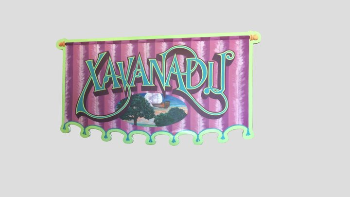 OCF Xavanadu Sign 3D Model