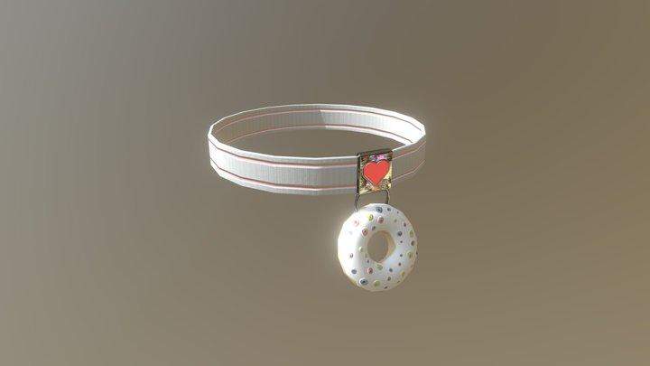 Donut Necklace 3D Model