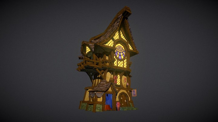 The House That Sees 3D Model