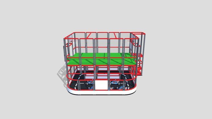Soccer Race 3D Model