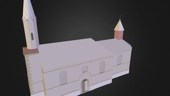 kostel sv. Prokopa  3D Model