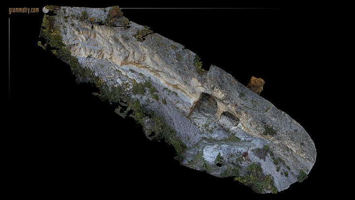 MARBRE SAILLON - GALERIES - BASSE/LOW RESOLUTION 3D Model