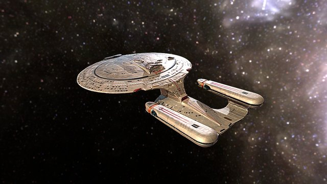Starship Enterprise Model 3D Model