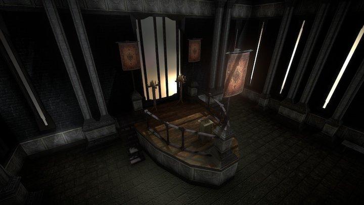 Castle Occult Chamber 3D Model