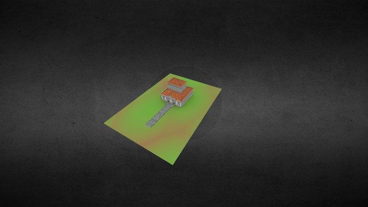 Les Vaux de la Celle - Temple 3D Model