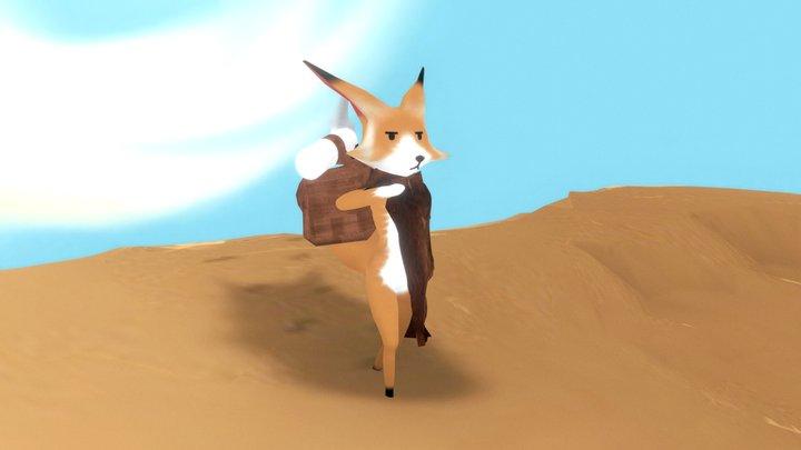 The desert traveler 3D Model