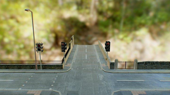 WIP 1 - Local Street 3D Model