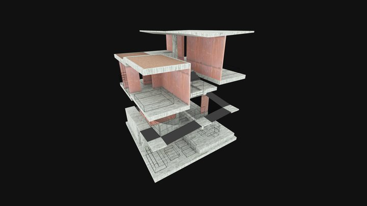 ranchito no 3D Model
