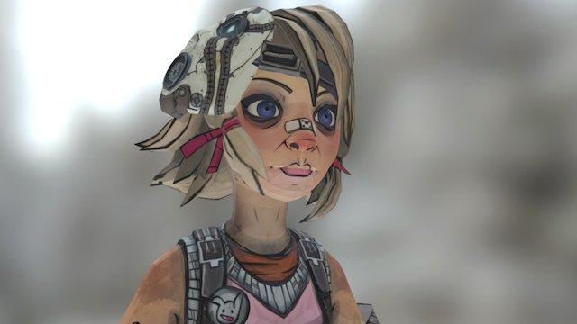 Tiny Tina 3D Model