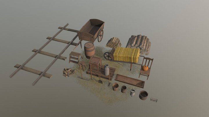 Farm Assets (Part 3) 3D Model