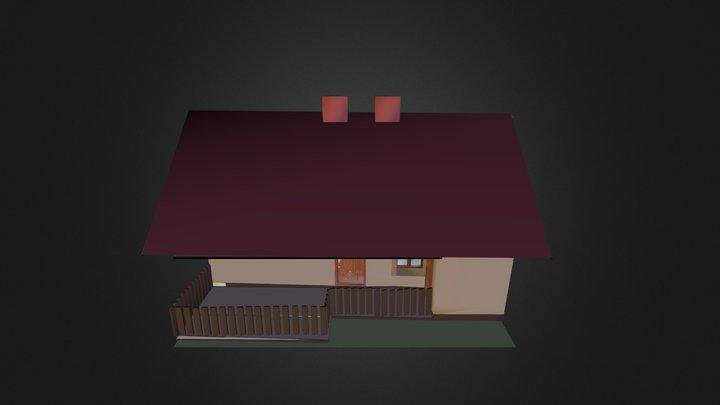 Domek 3D Model