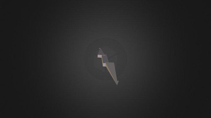 3d Lightning Bolt 3D Model