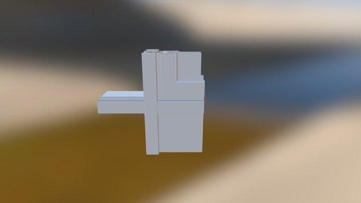 3D Type Mur Rideau Epine V2014 3D Model