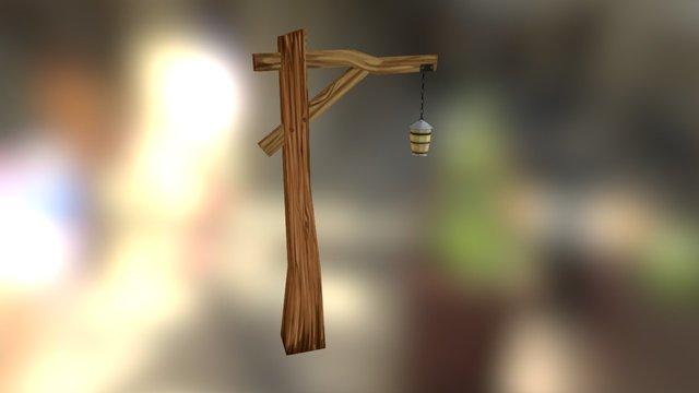fantasy asset: street lamp 3D Model