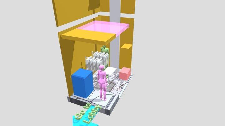Taman Belakang 3 3D Model