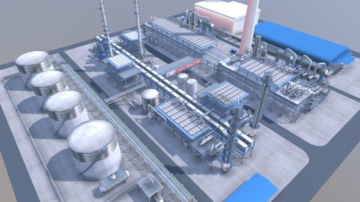 Refiney Complete 3D Model