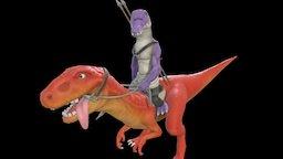 Dino & Croco character 3D Model
