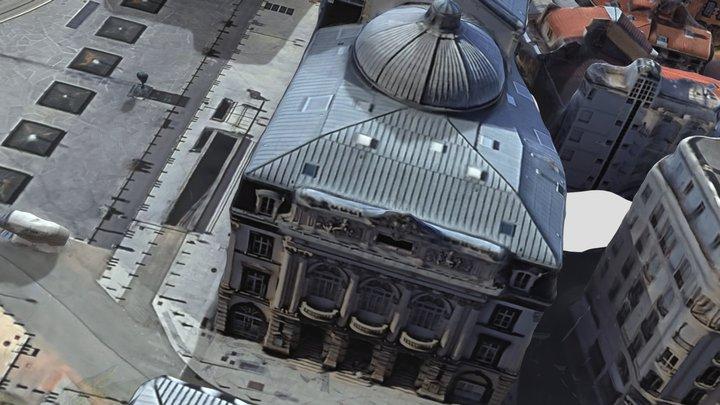 Opéra-Théâtre Clermont-Ferrand 3D Model