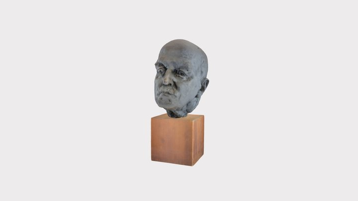 Bust of Harrington Emerson (High) 3D Model