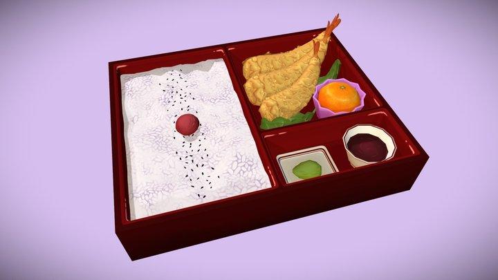 Tempura Bento  #foodchallenge 3D Model