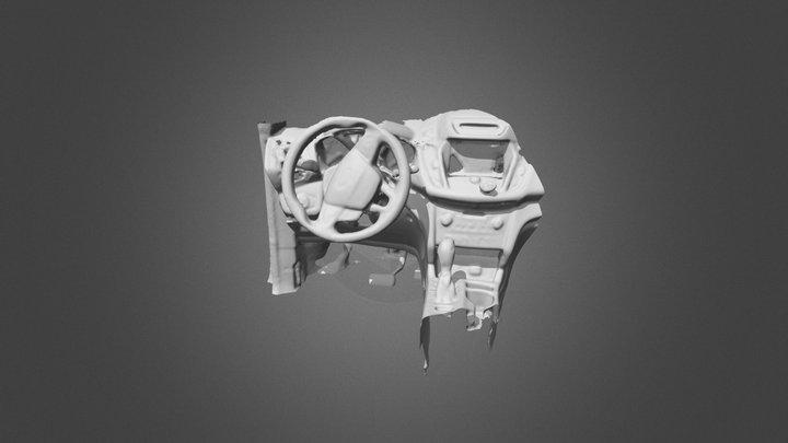 Ford Escape Dashboard 3D Model