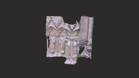 Cathedral Facade 3D Model