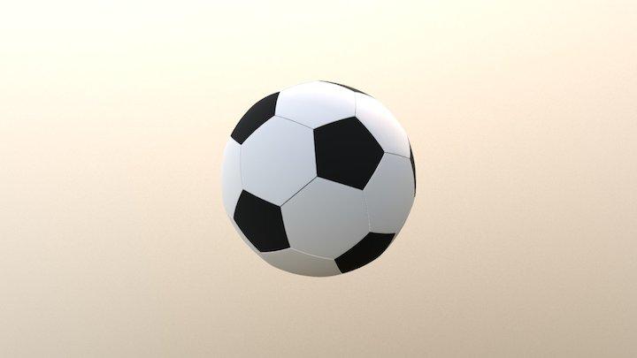 Soccerball 3D Model