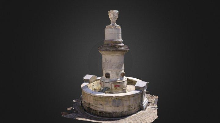 Fontaine de Chauron - 64100 BAYONNE 3D Model