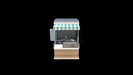 Caheeba Green Canteen - 3m 3D Model