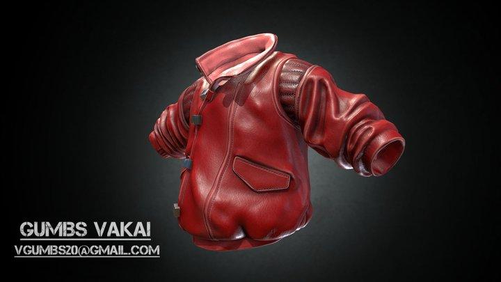 Kaneda's Jacket 3D Model