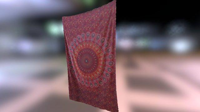 Mandala canvas 3D Model