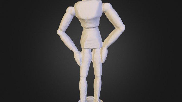 Doll Multiscan 3D Model