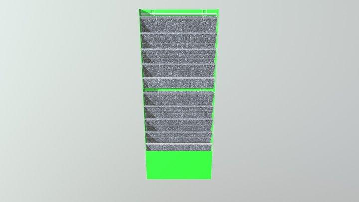 polyurethan module mit bewässerung 3D Model