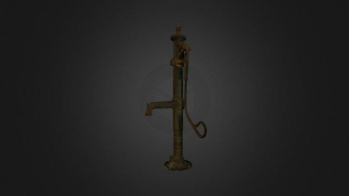 3D Scan rusty pump 3D Model