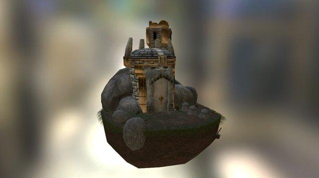 Dwarven Passage - Game Graphics Retake 2015 3D Model