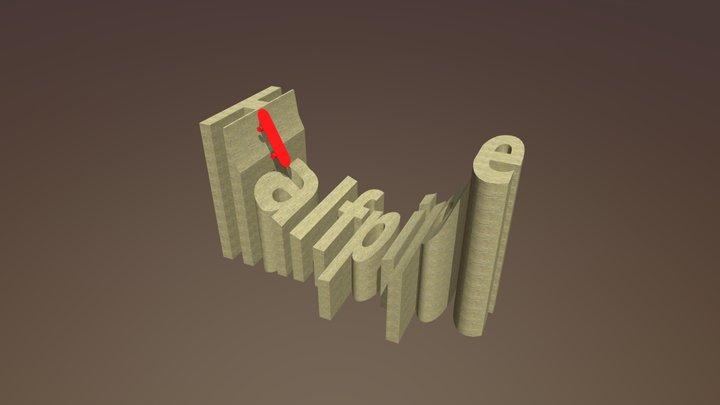 Halfpipe 3D Model