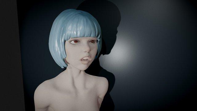 Blue 3D Model
