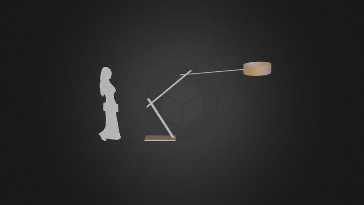 Lampa Gabariti 3D Model