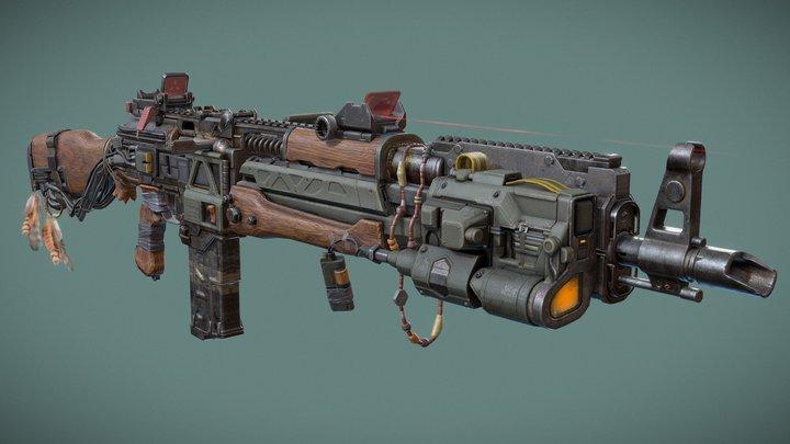 RAINIER AK - 3D 3D Model