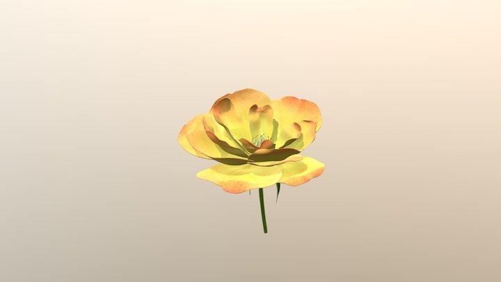 flor_prueba02 3D Model