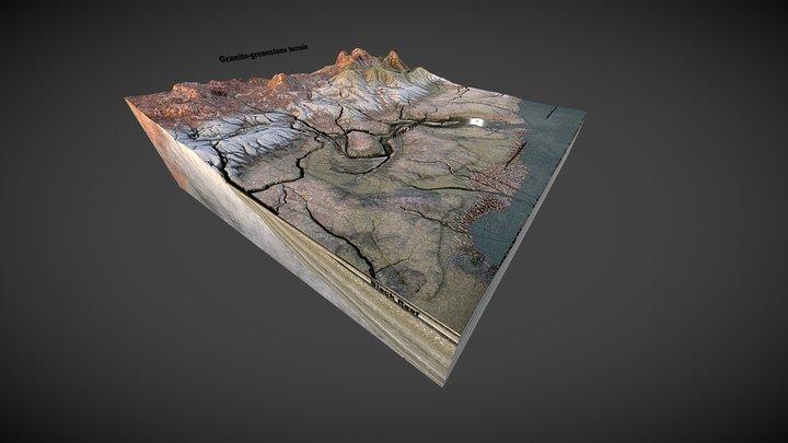 Neoarchaean Black Reef Formation 3D Model