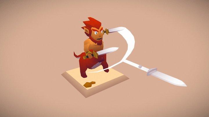The Legend of Zelda - Red Lynel 3D Model