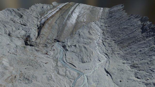 Snout of the Haut Glacier d'Arolla, Switzerland 3D Model