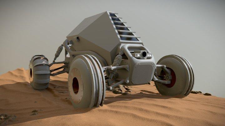 Mars Buggy 3D Model