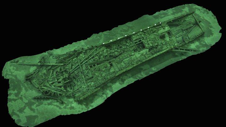 Shipwreck Indiana 3D Model
