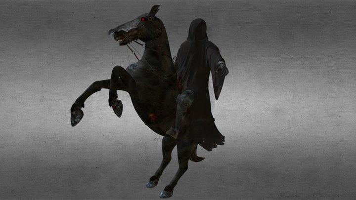 Dark Rider 3D Model