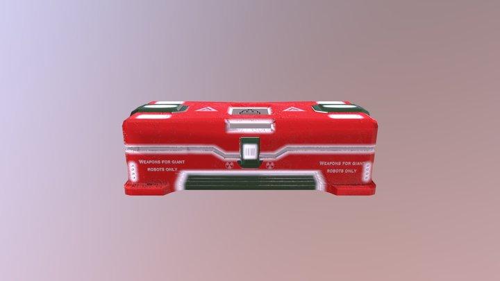 Crate V1 3D Model