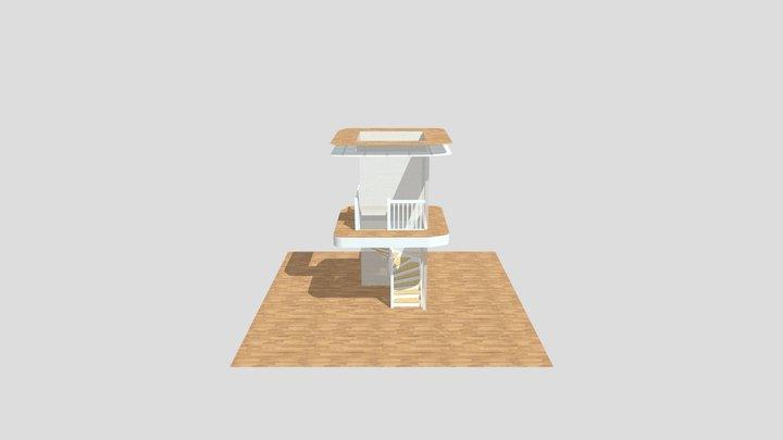 Kveno bygg hansen 3D Model